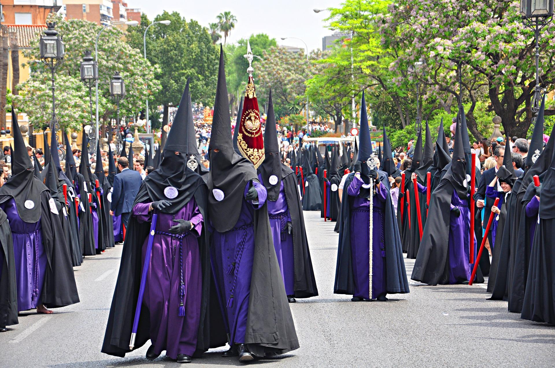 Easter procession Malaga