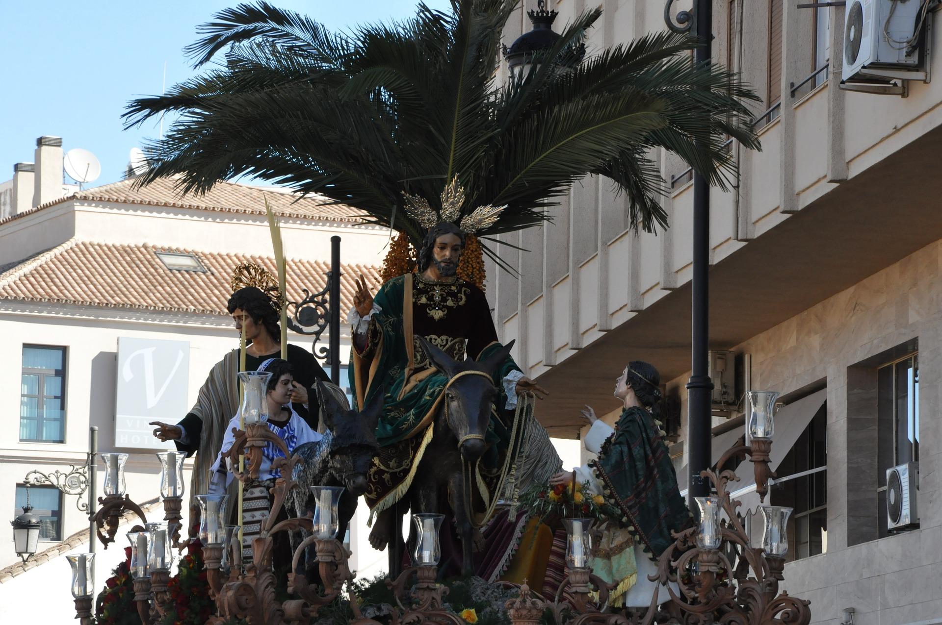 Easter procession in Malaga