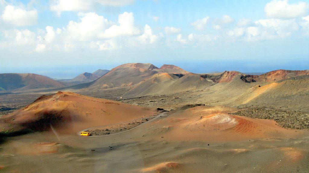 Timanfaya on the island of Lanzarote