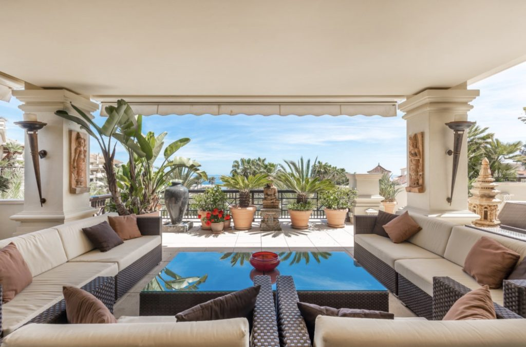 Takvåning Penthouse Marbella