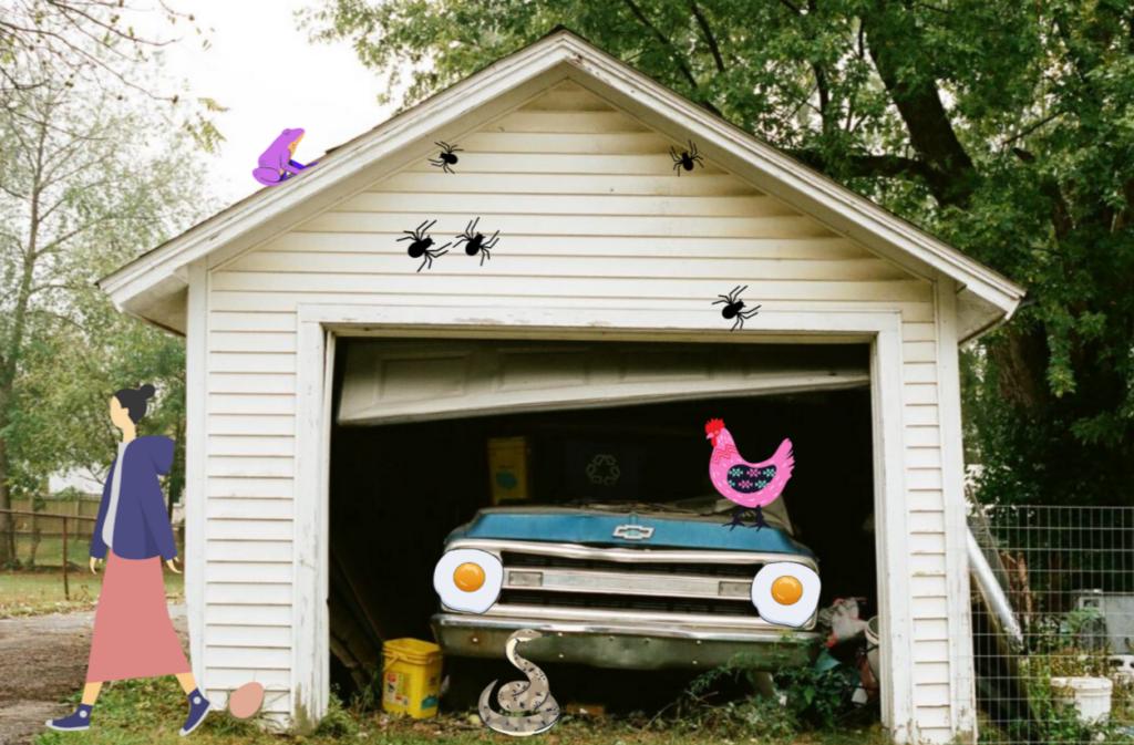 garage fake ad