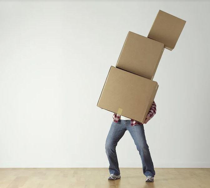flytta